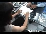 Indian desi receptionist