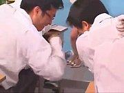 【吉沢明歩】綺麗な女教師が実は痴女、やらしい目で生徒を誘惑。
