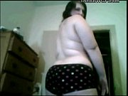 fat bbw ex girlfriend stripping and playing with her pussy