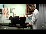 old gay doctor probes his patient's butt w … – Gay Porn Video