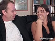 hot and horny student girl getting