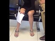 Upskirt en el aeropuerto de la cd de Mé