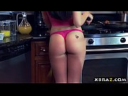 Picture Young Girl 18+ makes the perfect breakfast f...
