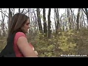 misty anderson blowjob in the woods