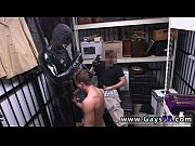 Gay blowjob tube Dungeon sir with a gimp