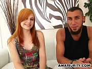 Picture Redhead amateur girlfriend sucks and fucks a...