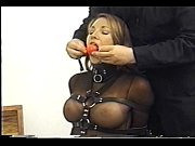 Picture Very cute Andrea Neal is bound, gagged and blindf...