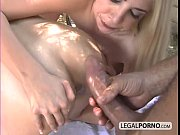 Two horny babes and two big co