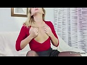 Young Boy caught German Step-Mom Masturbation and helps