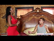 Picture Ebony gf in red dress Layton Benton gets pus...