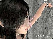 【3Dエロアニメ動画】 美少女のマンコをまんぐりがえしでじっくり見るど変態調教プレイ!XVIDEOS 三次元エロネット動画