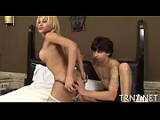 Cute tranny acquires lengthy ass ride