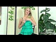 Худая молодая блондинка видео порно