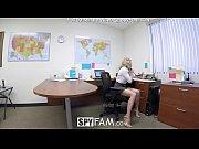 SpyFam Step son office ...