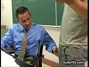 dominant student turn his teacher into mo … – Gay Porn Video