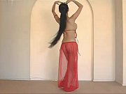 Beautiful thai belly dancer