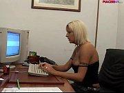 Italian blonde secretary mastu