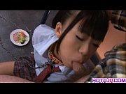 Picture Chika Ishihara licks hard cock