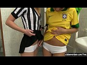 Brazilian teen player fuck ref