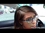Picture 95 lbs Young Girl 18+ Blowjob in a Car in Public