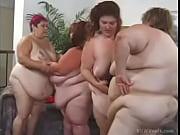 Orgia lésbica com gordonas coroas