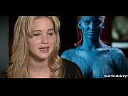 Jennifer Lawrence in X-Men First Class 2011