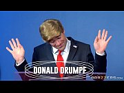 debate a during clayton hillary fucks drumpf Donald