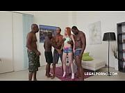 Black Busters, 5on1 Rebecca interracial BALL DE...