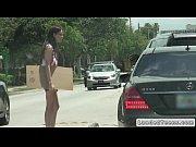 Teen hitchhiker bangs i...