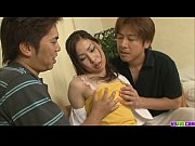 Chie Inamori Fucked And Creampied In A Threesome