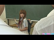 Picture Two Guys Fuck Sana Tight Holes In Class