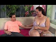 Picture Cock hungry BBW Angelina gets her pussy ream...
