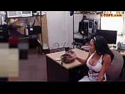 Huge titted latina sucks off a