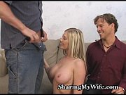 муж позвал знакомого вместе с ним трахать свою жену