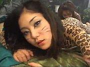 女豹 にゃお?にゃお?  ボディペイント【♥無料で見れます】