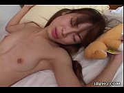 Tender Japanese teen loves being fucked d ...