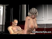 hard fucked gets and cock sucks blonde 3d Sexy