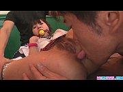 Asakura hot japanese schoolgirl blow job  ...