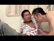 【ゲイ ビデオ】ヤンキー系イケメン同士が前戯でガマン汁全開w