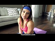 Picture CFNMTeens - Hot Brunette Fucked In Yoga Pants
