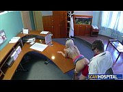 super hot blonde blanche gets her sweet pussy fucked by her doctor
