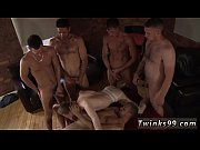 Picture Thai gay twink gangbang Poor James Takes An...