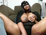 Old black lady play her...