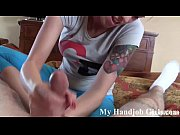 Macy gives her horny landlord a POV handjob view on xvideos.com tube online.