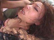 【xびでお】 鬼畜プレイ、強烈イマラチオでゲロまみれに・・・顔立ちの美しいお姉さんが台無しに崩れ落ちる!※お食事前には見ないで下さい・・・