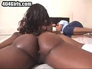 Chocolate Honey and her friend suck my dick