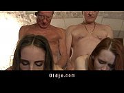 Picture Retired oldmen fuck and share two 20y-Girls