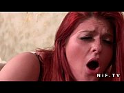 Picture Pretty french redhead plum fucked hard by the tax...