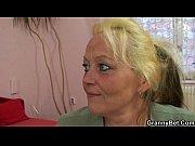 Old blonde slut gets screwed