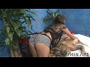 Красивые девушки делают масаж дуруг другу
